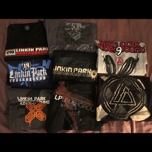 Linkin Park Underground lot of 8 shirts. 2xl, xl